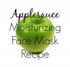 DIY Applesauce and Wheat Germ Moisturizing Mask Recipe