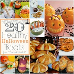 Clean & Scentsible: Heathy Halloween Food Ideas
