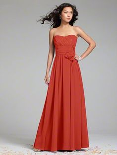 Persimmon Bridesmaid Dresses - Mother Of The Bride Dresses