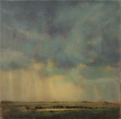 """Evening Storm"" - Nancy Bush"