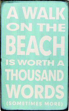A walk on the beach <3