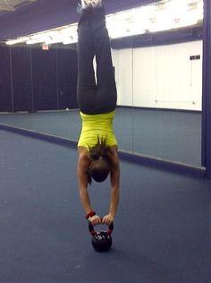 Kettlebell balance--insane!!