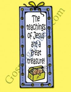 JESUS CHRIST'S TEACHINGS: Primary CTR-A, Lesson 20, Primary 2 manual, the Teachings of Jesus Christ Are a Great Treasure, Primary Lesson Hel...
