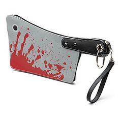 ThinkGeek :: Bloody Cleaver Handbag