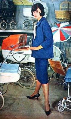 Stroll in style with a vintage baby carriage, Margriet Magazine (Dutch) December 1960