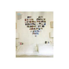 Polaroid Heart wall art made of Polaroids!