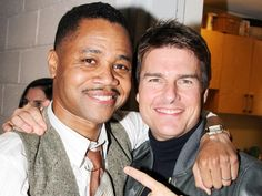 Show us the money! Tom Cruise reunites with JERRY MAGUIRE co-star Cuba Gooding Jr. at THE TRIP TO BOUNTIFUL