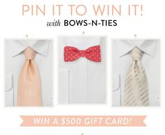 Wedding Gifts For USD500 : ... win a USD500 gift card to Bows-N-Ties. Contest ends May 31st, 2014 More