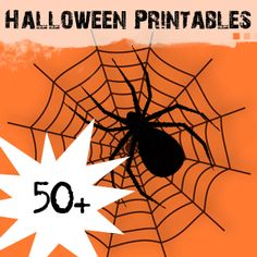 50+ Halloween Printables @savedbyloves savedbylovecreations.com #Halloween #Printables
