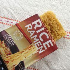 Rice Ramen!  Millet & Brown Rice etc.
