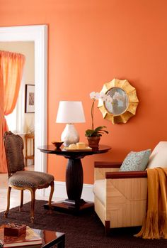 must paint one of my walls this color.