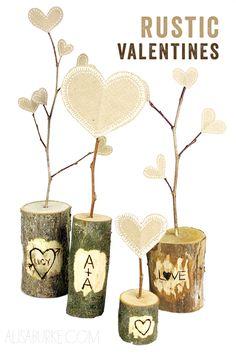 Rustic+Valentine's+Day+Gift tutorials, craft, heart, woodburn valentin, rustic woodburn, diy rustic, valentine day gifts, rustic valentin, woodburn idea