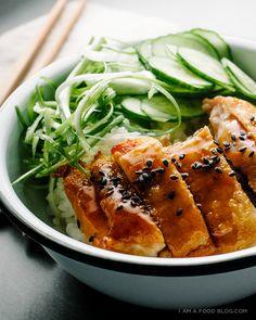 how to make chicken teriyaki / www.iamafoodblog.com