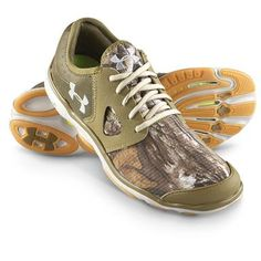 Men's Under Armour® Toxic Outdoor Shoes, Realtree AP Xtra® / Drab / Uniform