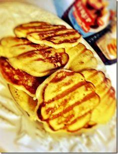 George Foreman grilled pancakes