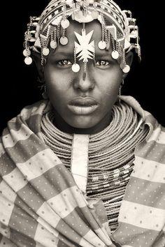 Samburu Girl from Wamba, Kenya...photo by Mario Gerth