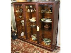 Antique Display Cabinet - $599