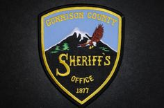 Gunnison County Sheriff Patch, Colorado (Vintage)