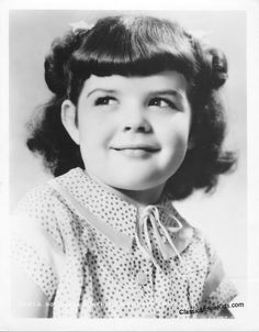 Darla Hood from The Little Rascals Show 1930sThe Little Rascals Darla Hood