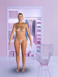 Put in your measurements and find your body type and how to dress it...crazy!