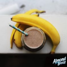 Craving a mid-morning/afternoon snack? This smoothie is the answer!   Recipe: 1 serve of Unsweetened Vanilla Almond Breeze, 1/4 of a tbsp of natural peanut butter, 2 tbsp of honey, 1 tsp vanilla extract, 1 tsp of cinnamon, 1 banana, and a big handful of ice.  Method: Pop all ingredients into a blender for a quick whizz, then enjoy!