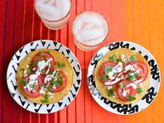 Easy Mexican inspired appetizer. A Mexican inspired caprese. www.cupcakesandcutlery.com
