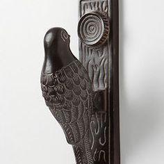Door knocker-  eclectic knobs by Anthropologie
