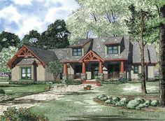 Plan:+HHF-8870,+1.5+story,+2373+total+square+footage
