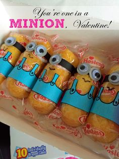 One in a Minion Valentines