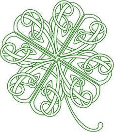 Celtic 4 Leaf Clover idea