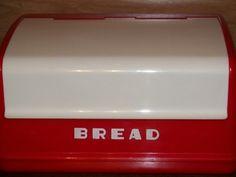 vintage breadbox-love
