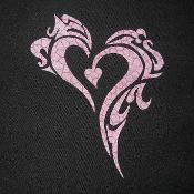 Tribal Heart 2 Applique - via @Craftsy