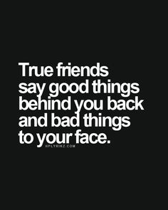 True Friends!