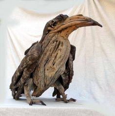 bird, sculptur