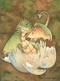 Duncan the Baby Dragon, james browne