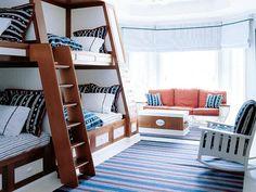 Nautical bunks- so great!