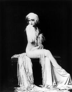 vintag, cheney johnston, 1920, jazz age, ziegfeld girl, claudia dell, ziegfeld folli, alfr cheney, burlesqu