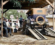 Filling Station: 1924, Washington, DC. (i.imgur.com) (1400×1150)