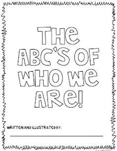 Classroom Freebies Too: ABC Booklet