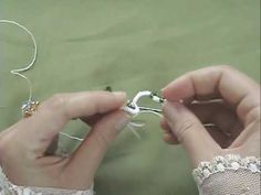 Needle tatting with beads
