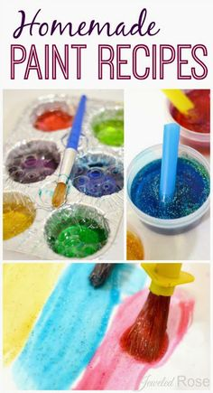 homemad paint, craft, homemade bubbles, paint recip, homemad bubbl, bubble baths, bubbl paint, kid, homemade paint