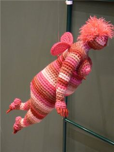 crochet knit unlimited: Crazy crochet: flying fatties