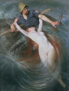 The Fisherman and The Siren, by Knut Ekwall