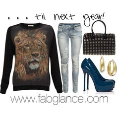 """""""#HBCU Homecoming - Til Next Year"""" by fabglance on Polyvore"""