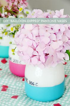 "DIY ""Balloon-Dipped"""