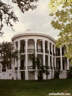 Nottoway Plantation.  This plantation is the largest antebellum plantation house left in the South which contains 64 rooms, 7 staircases, and 5 galleries. This 53,000-square foot plantation home was constructed in 1858. Website: //www.nottoway.com/   Location: 31025 Louisiana Highway 1 (off The Great River Road), White Castle, Louisiana