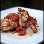 Skinny Slow Cooker - Balsamic Chicken