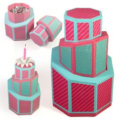 3 under 3 and more: 3D Topsy Turvy Denni Cake tutorial