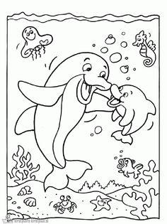 Zee Kleurplaten On Pinterest Dover Publications Ocean