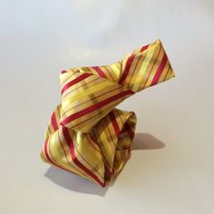 A bespoke silk necktie from NELSON WADE in Scottsdale.